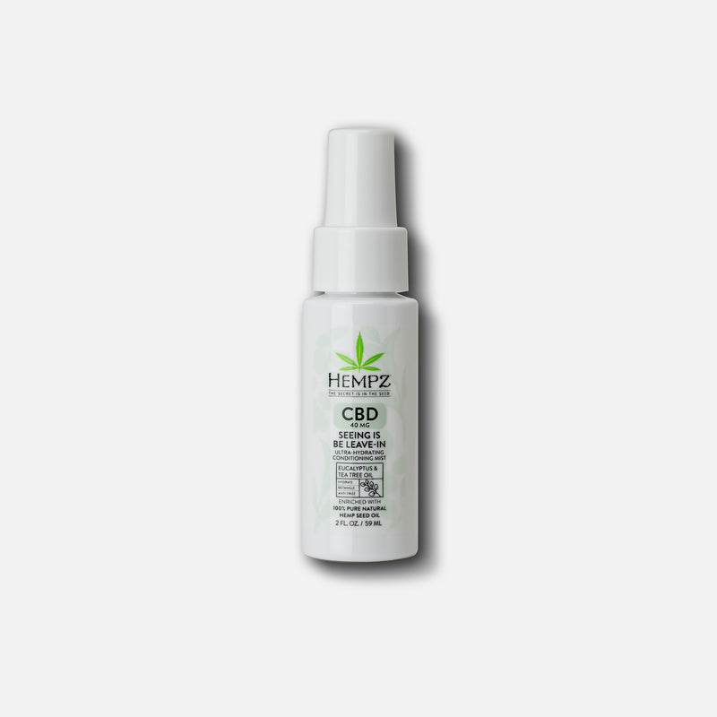 Hempz Travel-Size CBD Seeing is Be Leave-In Ultra-Hydrating Conditioning Mist