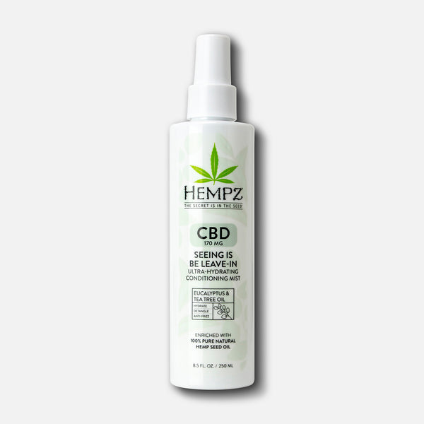 Hempz CBD Seeing is Be Leave In Ultra-Hydrating Herbal Conditioning Mist