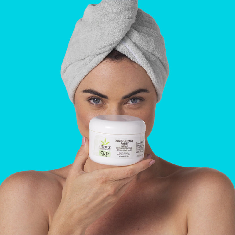 CBD Masquerade Party Instant Ultra-Hydrating Herbal Hair Mask