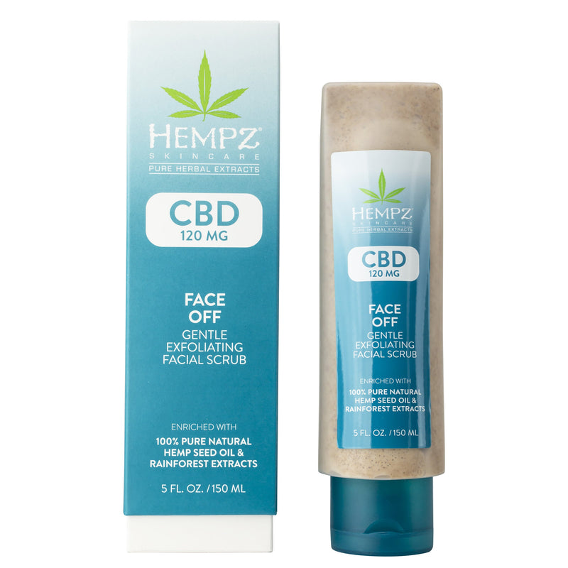 Hempz CBD Face Off Gentle Exfoliating Scrub