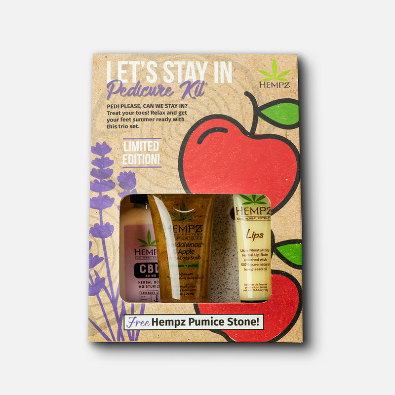 Let's Stay In! Pedicure Kit