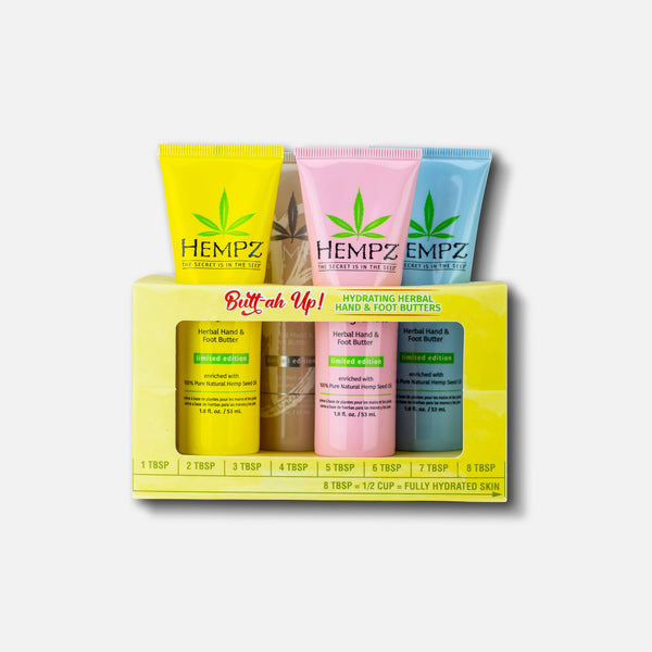 Hempz Limited-Edition Butt-ah Up Hand & Foot Butter Set