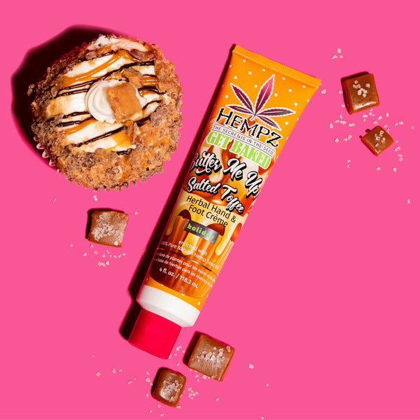 Hempz Limited-Edition Butter Me Up! Salted Toffee Herbal Hand & Foot Crème