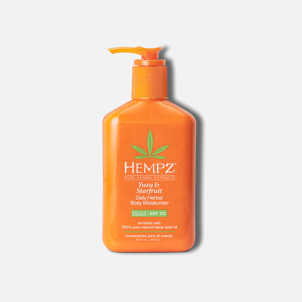Hempz Daily SPF Yuzu & Starfruit Herbal Body Moisturizer with SPF 30 8.5 fl oz