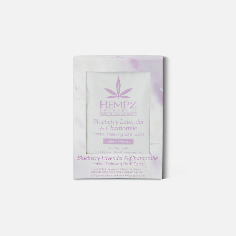 Hempz Aromabody Blueberry Lavender & Chamomile Herbal Relaxing Bath Salts