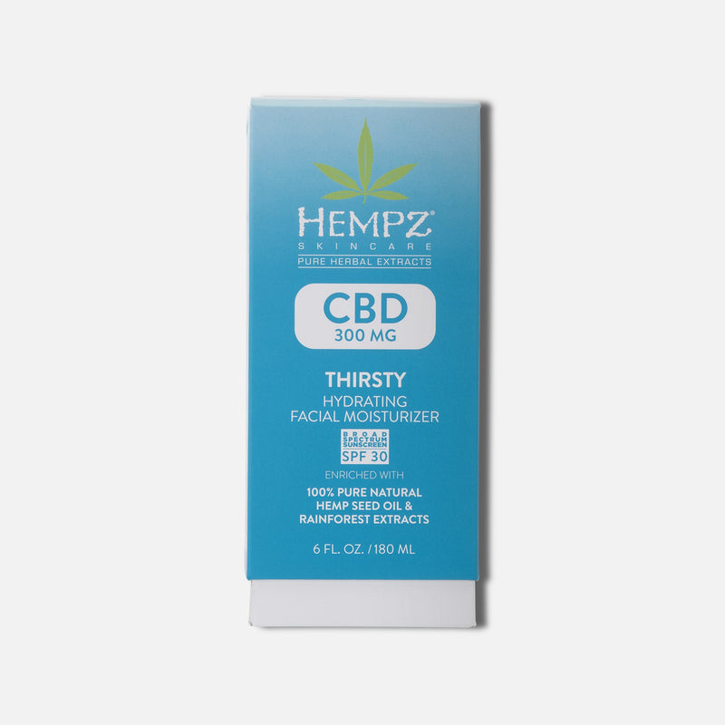 CBD Thirsty Hydrating Facial Moisturizer