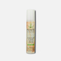 Hempz Fresh Fusions Citrine Crystal & Quartz Herbal Face, Body & Hair Hydrating Mist 5.07 fl oz