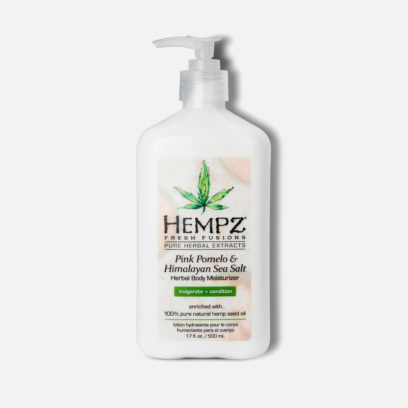 Hempz Fresh Fusions Pink Pomelo & Himalayan Sea Salt Herbal Body Moisturizer 17 fl oz