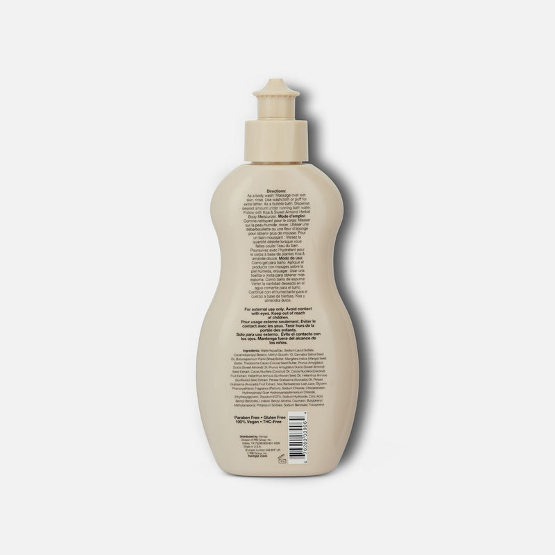 Koa & Sweet Almond Smoothing Herbal Bubble Bath & Body Wash