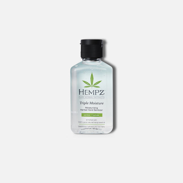 Hempz Travel-Size Triple Moisture Moisturizing Herbal Hand Sanitizer
