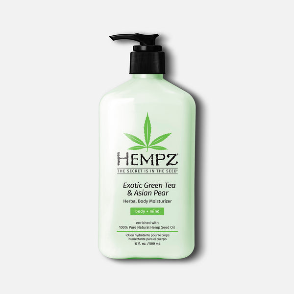 Hempz Exotic Green Tea & Asian Pear Herbal Body Moisturizer Lotion