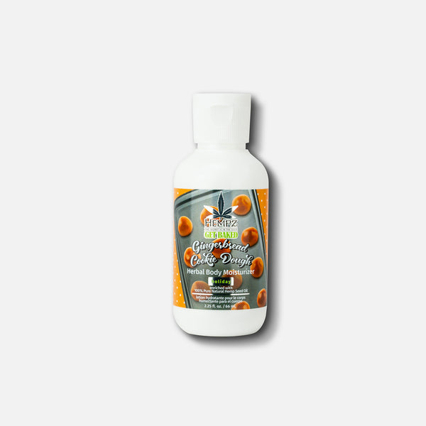 Hempz Limited-Edition Travel-Size Gingerbread Cookie Dough Herbal Body Lotion