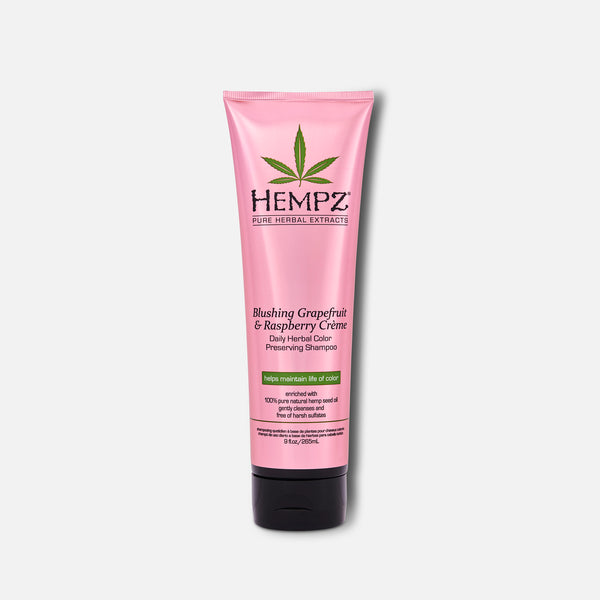 Hempz Blushing Grapefruit & Raspberry Crème Herbal Color Preserving Shampoo 9 fl oz
