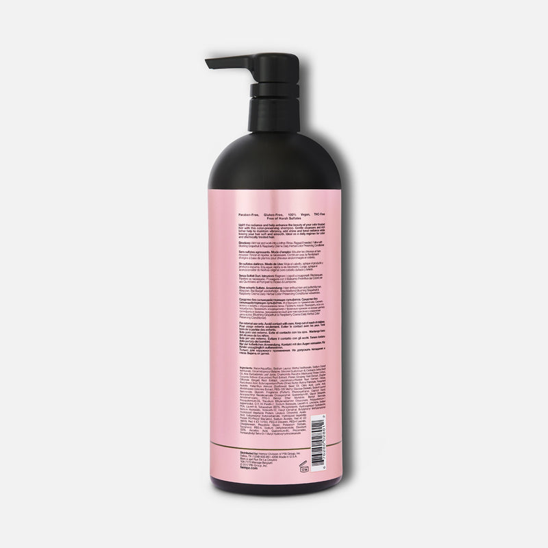 Hempz Blushing Grapefruit & Raspberry Crème Herbal Color Preserving Shampoo 33.8 fl oz