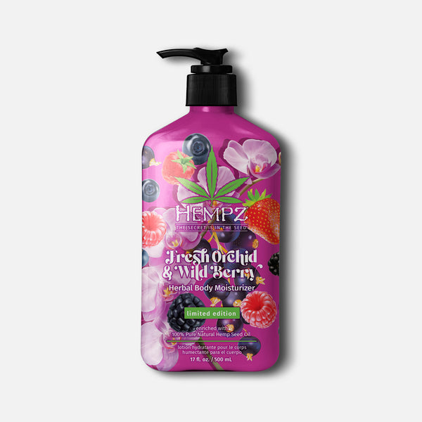 Hempz Limited-Edition Fresh Orchid & Wild Berry Herbal Body Moisturizer