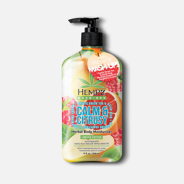 Hempz Mash-Ups Calm & Citrusy Herbal Body Moisturizer Lotion