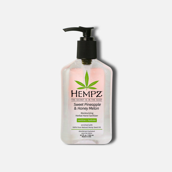 Hempz Sweet Pineapple & Honey Melon Moisturizing Herbal Hand Sanitizer, 8.5 oz