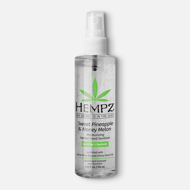 Hempz Limited-Edition Sweet Pineapple & Honey Melon Moisturizing Herbal Hand Sanitizer Spray