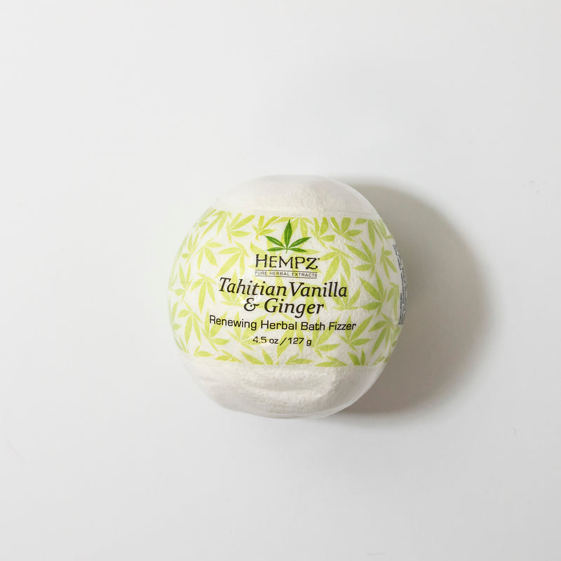 Tahitian Vanilla & Ginger Renewing Herbal Bath Fizzer