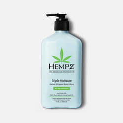 Hempz Triple Moisture Herbal Whipped Body Crème Lotion
