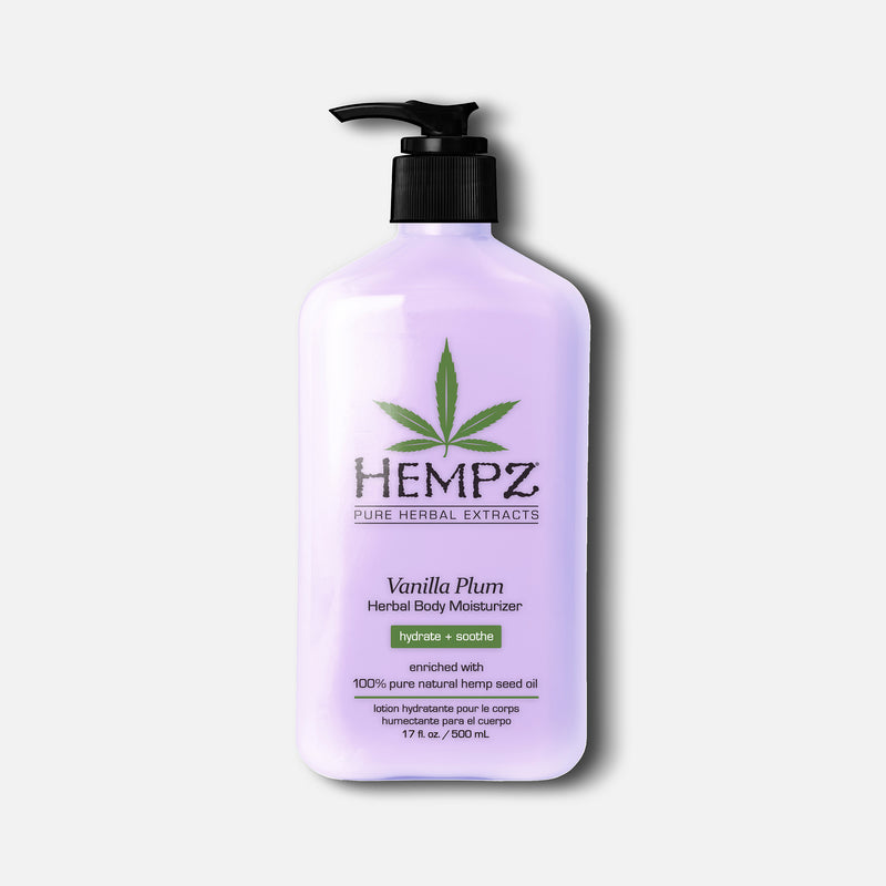 Hempz Vanilla Plum Herbal Body Moisturizing Lotion