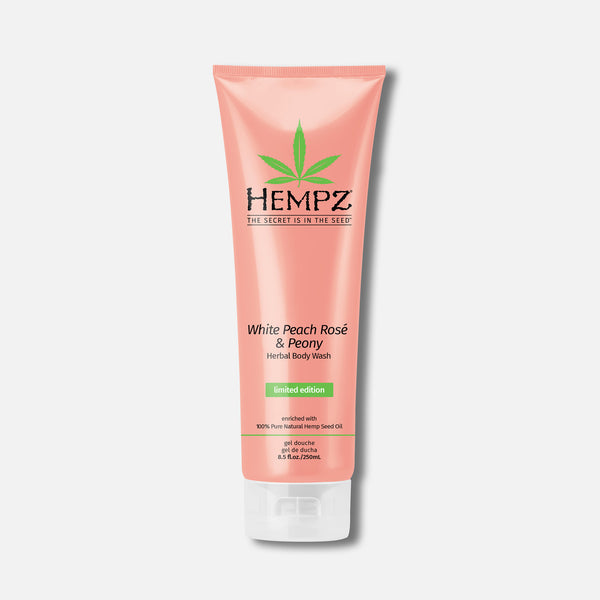 Hempz White Peach Rose & Peony Herbal Moisturizing Body Wash