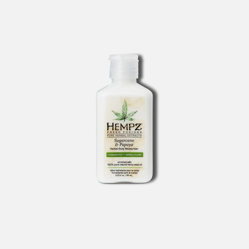 Hempz Fresh Fusions Sugarcane & Papaya Herbal Body Moisturizer Lotion