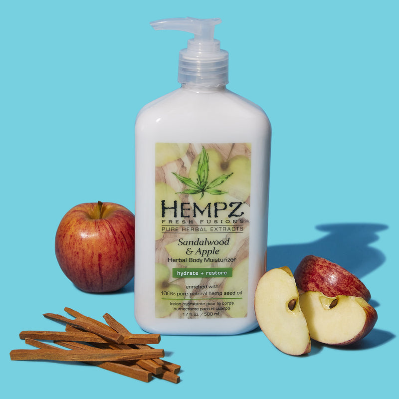 Hempz Fresh Fusions Sandalwood & Apple Herbal Body Moisturizer
