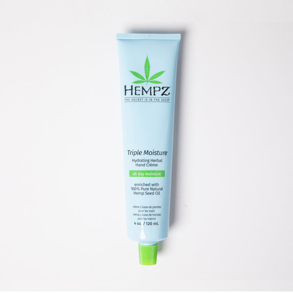Hempz Triple Moisture Hydrating Herbal Hand Cream for Dry Skin