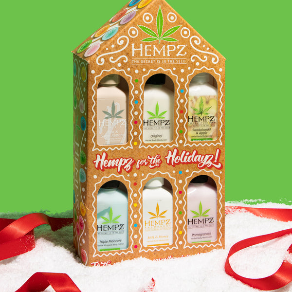 Hempz Limited-Edition Hempz for the Holidayz Travel-Size Moisturizer Set
