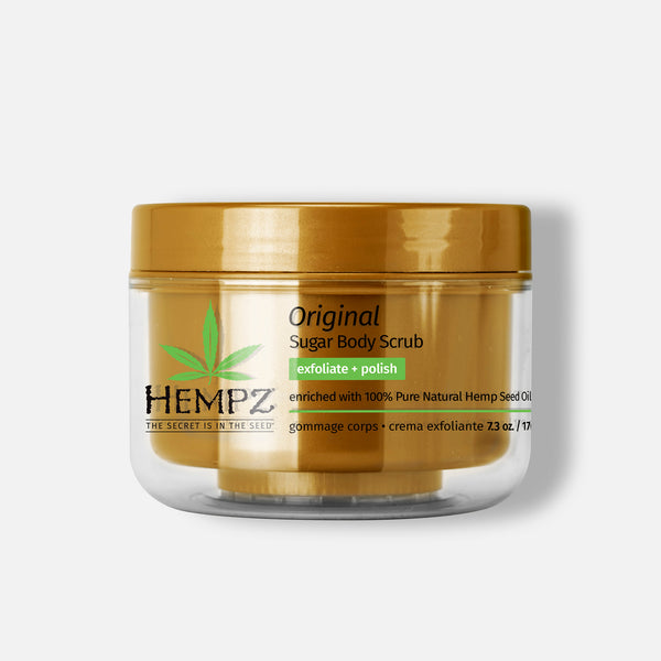 Hempz Original Sugar Body Scrub, 7.3oz
