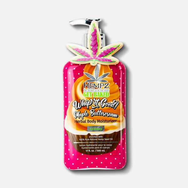 Limited-Edition Whip It Good! Maple Buttercream Herbal Body Lotion