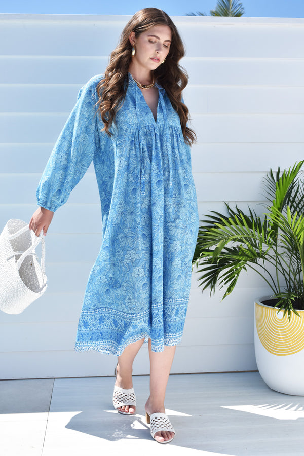 Ella Dress Bluebell