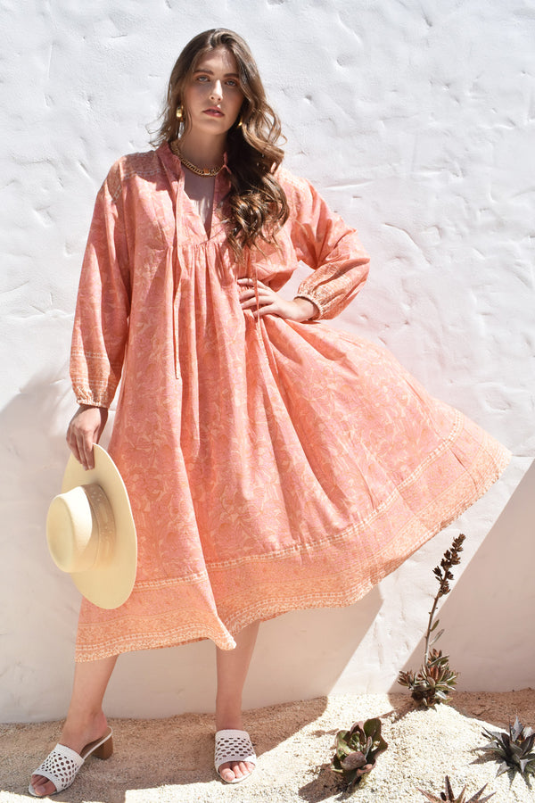 Daisey Dress Peachy