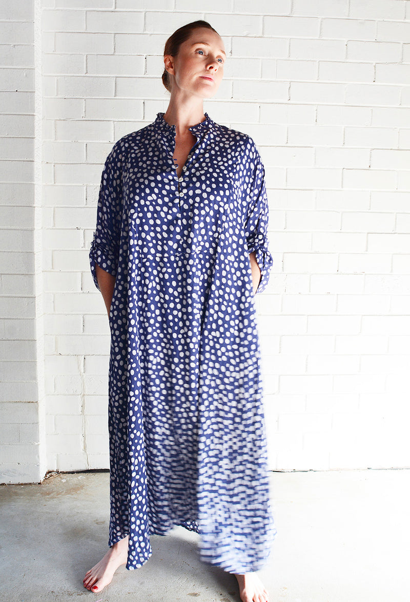 Willow Dress Geo Dot Print