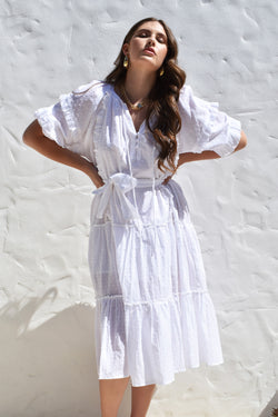Cotton Summer Florence Dress