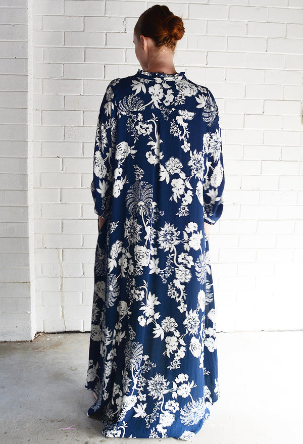 Willow Dress Navy