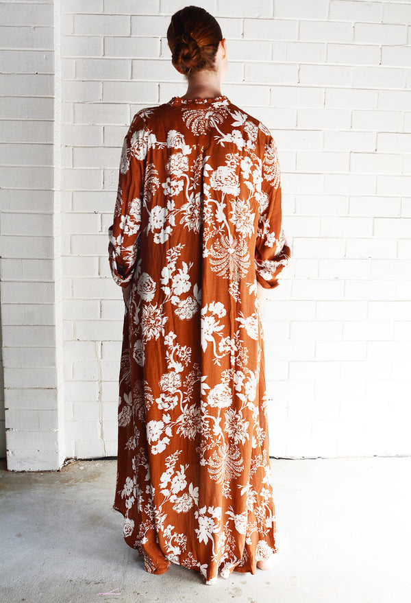 Willow Dress Rust