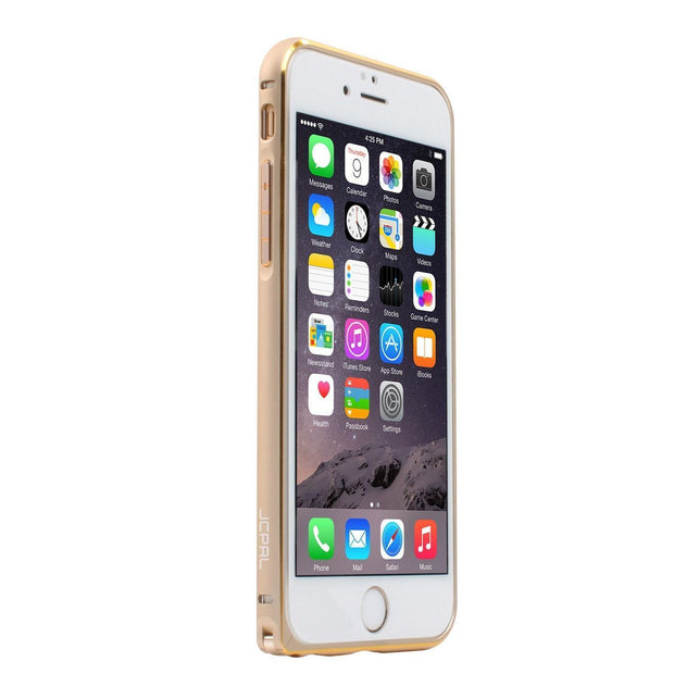 JCPal Case Casense iPhone 6 Aluminium Bumper Gold