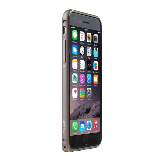 JCPal Case Casense iPhone 6 Aluminium Bumper Space Grey