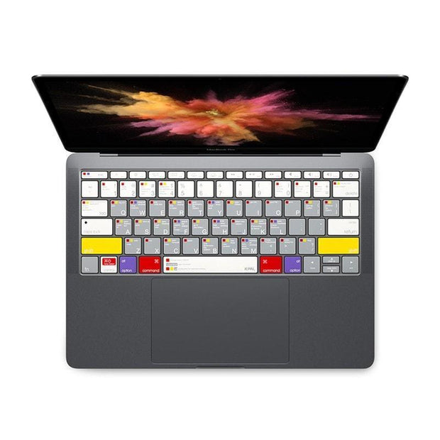JCPal Keyboard Protector VerSkin MacOS Shortcut Keyboard Protector for 2016 MacBook Pro 13""