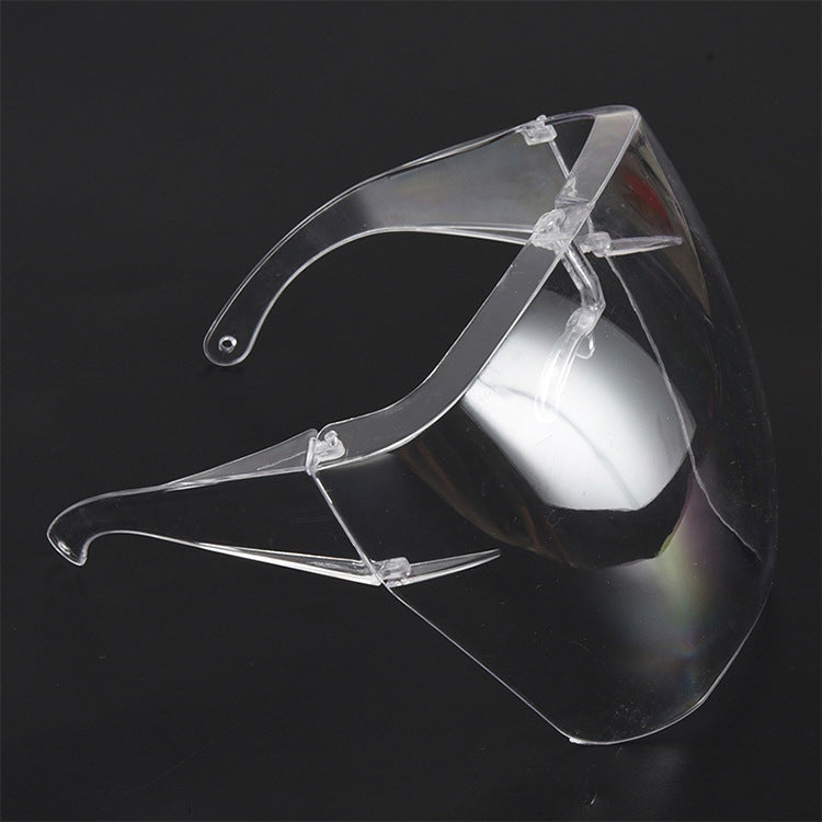Anti-fog Transparent Safety Shields
