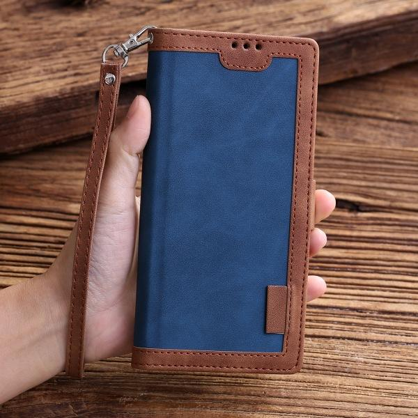 Shockproof Retro Wallet Case For Samsung S-Series