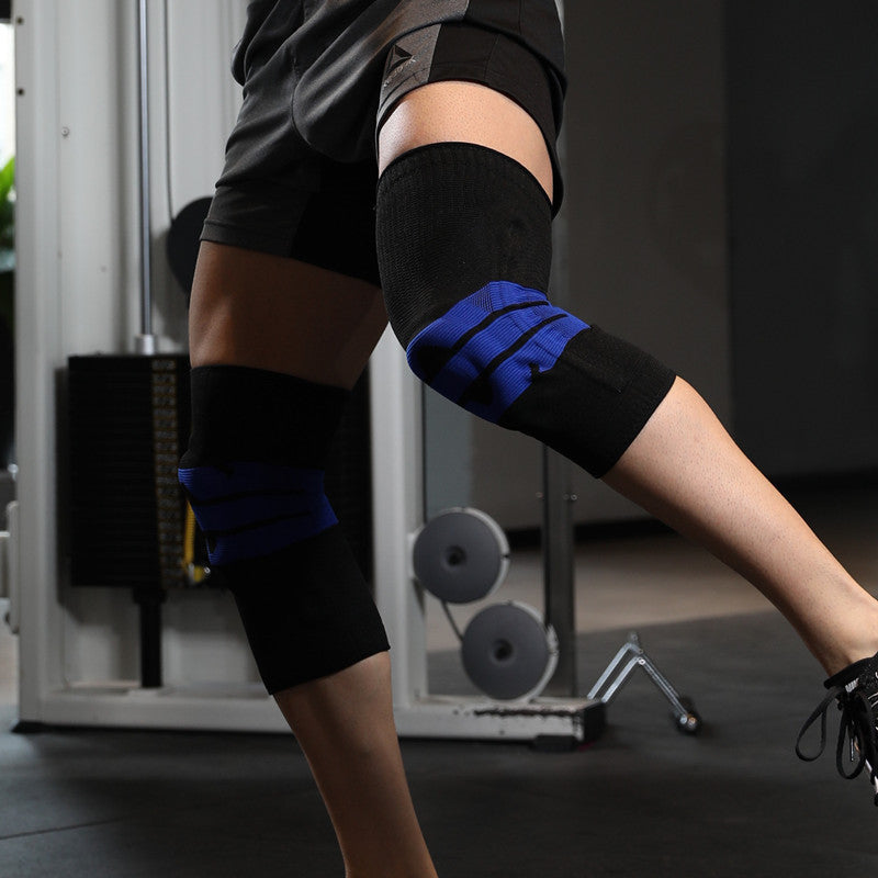 Medical Grade Knee Protector with Patella Gel Pad & Side Spring Stabilizers