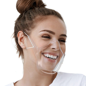 All-new Anti-fogging Transparent Lip Language Mask
