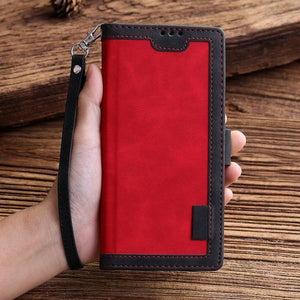 2021 ALL-New Shockproof Wallet Case For iPhone 8