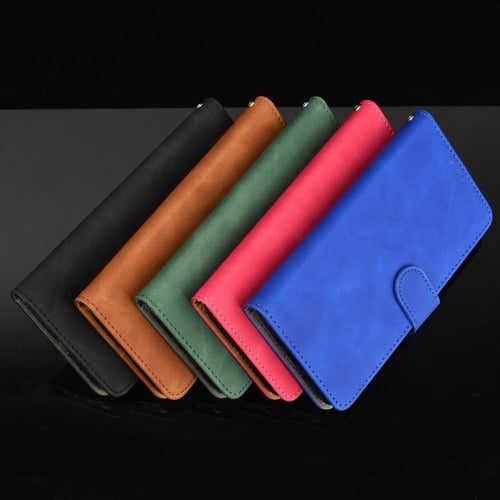 Pure Color Skin Feel Flip Leather Case For Samsung A71
