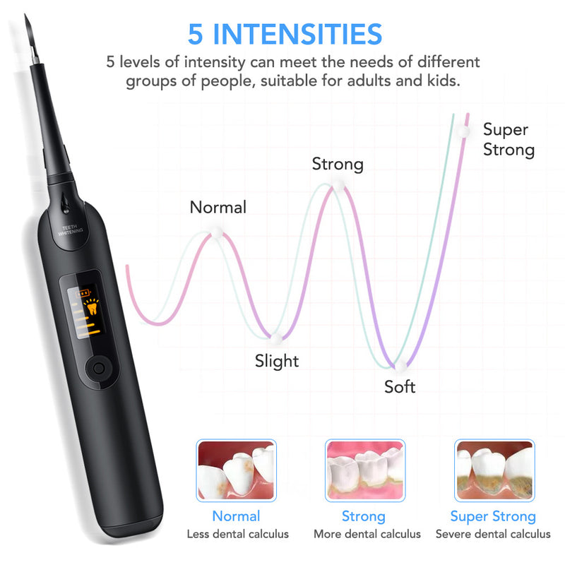 Home-use Electric Dental Clear Tools with LED Screen