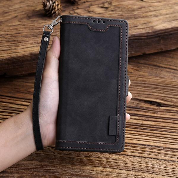 Shockproof Retro Wallet Case For Samsung N-Series
