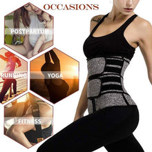 Load image into Gallery viewer, Women Waist Trainer (Sauna Sweat Faja)